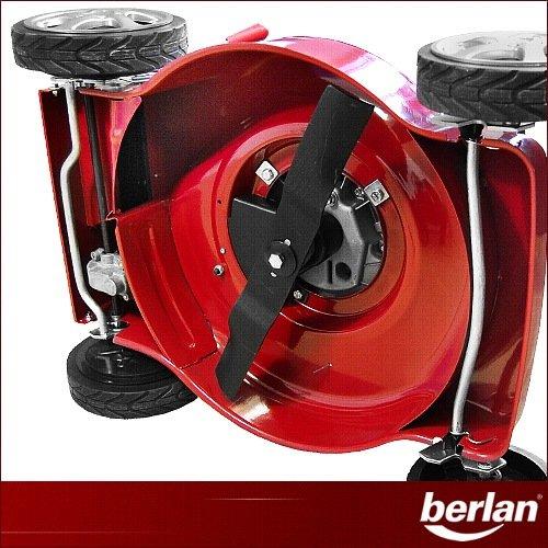 garten top kaufen berlan benzin rasenm her 4 ps 460 mm mit radantrieb. Black Bedroom Furniture Sets. Home Design Ideas