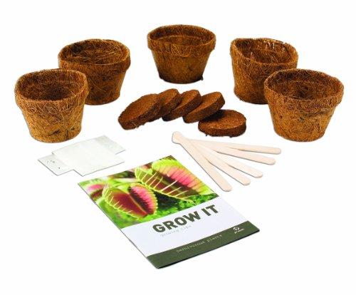 garten top kaufen gift republic grow it geschenkset fleischfressende pflanzen pflanzset. Black Bedroom Furniture Sets. Home Design Ideas