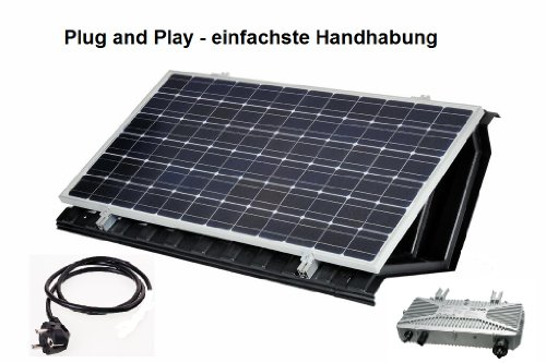 garten top kaufen solarset komplettanlage 190 wp haus solaranlage steckerfertig plug and play. Black Bedroom Furniture Sets. Home Design Ideas